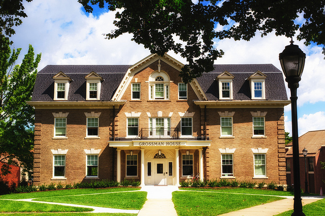 Grossman House for Global Perspectives at Lafayette College Receives National Recognition for Sustainability